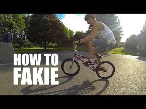 How to fakie BMX (Как сделать фэйки на BMX, MTB) | Школа BMX Online #8 Дима Гордей