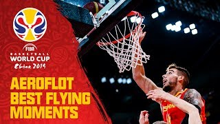 Willy Hernangomez slams it home with authority vs. Argentina! | Aeroflot Best Flying Moments