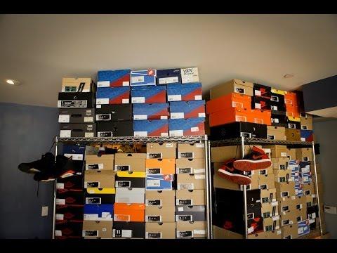 Jon Hundreds prezentuje swoje 2,5 tysiąca par butów