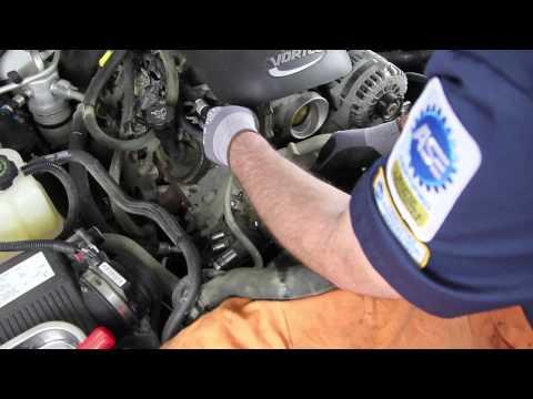 How to install a Water Pump: 1999 - 2005 Chevrolet Silverado 1500 5.3L V8 WP-9409 AW5104