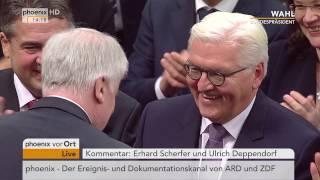 Ergebnis des Wahlgangs zum 12. BundesprГsidenten Rede von Frank-Walter Steinmeier am 12.02.2017