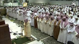 1ère nuit des Tarâwîh du ramadan 2015 à La Mecque - Sheikh Mahir Al-Mu'ayqali 1/2