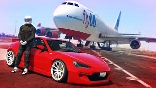AIRPORT STUNT - GTA 5!
