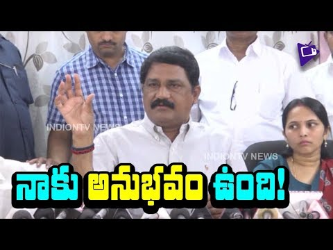 Minister Ganta Srinivasa Rao Responds on IT Raids in AP | Slams YS Jagan | Mana Aksharam