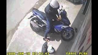 Trộm Xe Máy Exciter CTY THÀNH TÀI BÌNH DƯƠNG   25 10 2013 Full