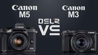 Canon EOS M5 vs Canon EOS M3