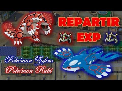 Cómo Conseguir el REPARTIR EXP en Pokémon Zafiro. Rubí y Esmeralda