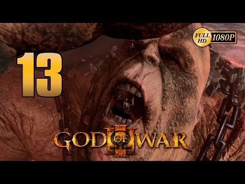 God of War 3 PS3 | Boss Cronos vs Kratos | Walkthrough Parte 13 Español Gameplay HD 1080p