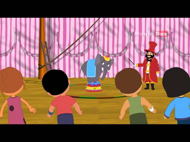 AANACHETTAN - MALAYALAM CARTOON NURSERY RHYMES - KINGINI CHELLAM