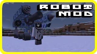 [1.7.10] Minecraft robot mod | Build transformers | Joint Block Mod Showcase! | Japanese mod!