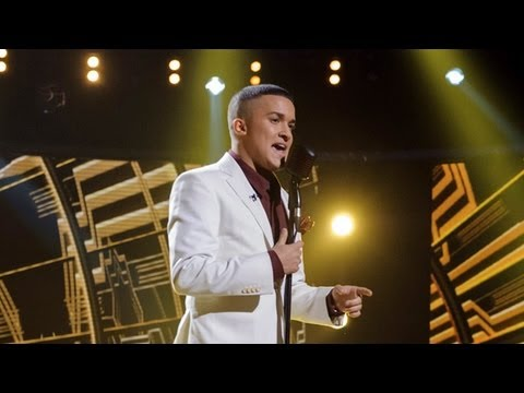 Jahmene Douglas sings Amy Winehouse/Ashford & Simpson - Live Week 2 - The X Factor UK 2012
