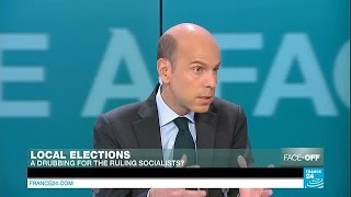 French local elections: A drubbing for the ruling Socialists?