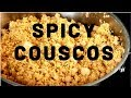 SPICY COUSCOUS WITH SHRIMP | Chef Ricardo Cooking