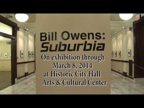 Bill Owens Suburbia Gallery Talk- 1911 Historic City Hall Lake Charles