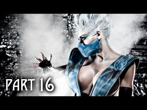 Mortal Kombat X Walkthrough Gameplay Part 16 - Frost - Story Mission 9 (MKX)