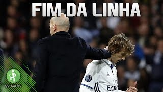 ZIDANE DEMITE MODRIC DO REAL MADRID