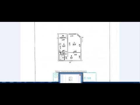 Видео как нарисовать план квартиры