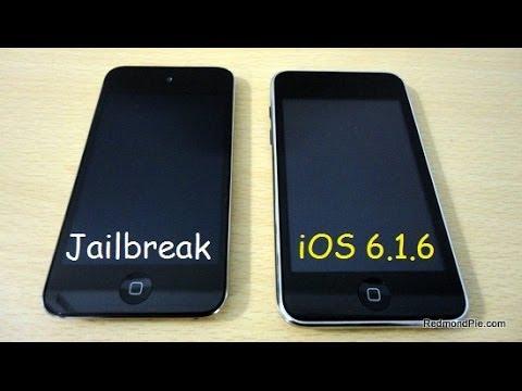 Jailbreak Untethered iOS 6.1.6 Español iPod Touch 4G - iPhone 3GS