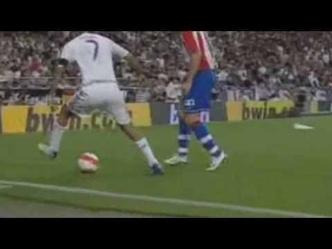 Raul Gonzalez Blanco: Skills, Tricks and Passes Video