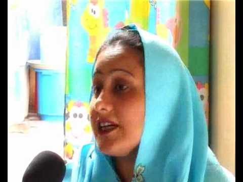 Mehnaz a Victim of Polio Video