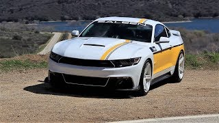 Amazing 730 Horsepower Saleen S302 Mustang - Test Drive and Speed Run with T33 Jet!