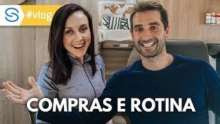 ROTINA DO DIA COM COMPRAS, LAVANDERIA E MOTORHOME | Travel and Share