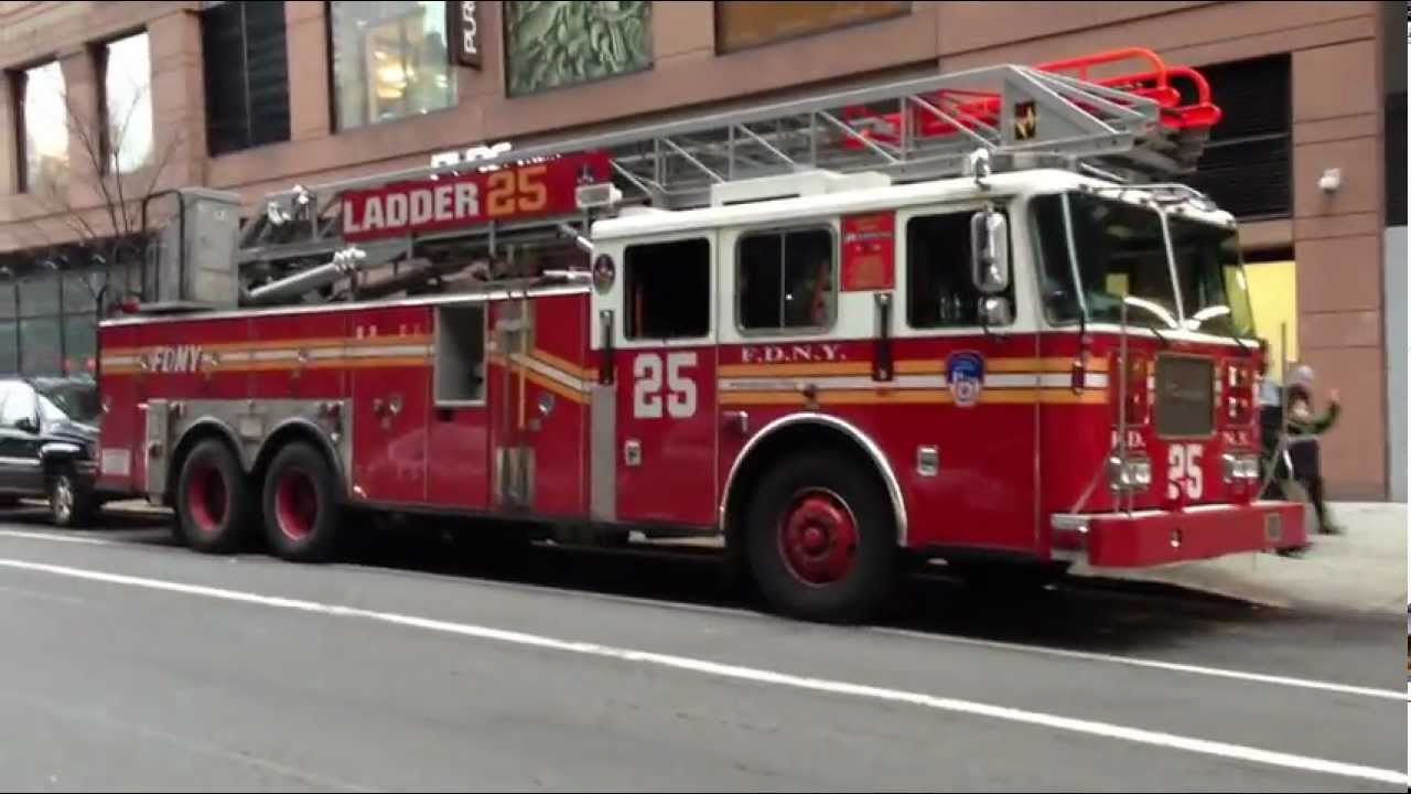 Fdny Ladder 25 Fdny Ladder 15 Acting For Fdny