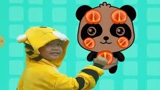 Kỹ năng cho bé tập 14 Món ăn tốt cho sức khỏe p2 hoạt hình vui nhộn Kênh trẻ em - video cho bé yêu