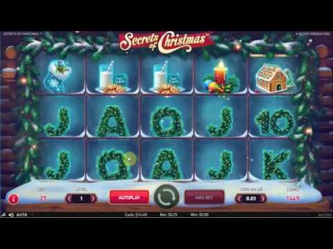 New Slots: Secrets of christmas - Lose 27$ - Play for real