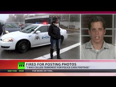 US Navy vet fired, called a terrorist over Ferguson security photos