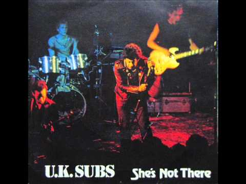 Uk Subs - Shes Not There