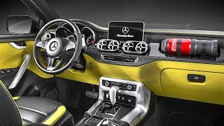Mercedes Pickup INTERIOR 2017 In Detail Mercedes X Class Pickup Truck  INTERIOR CARJAM TV HD