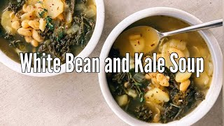 Quick and Easy White Bean and Kale Soup