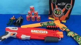 Box of Toys NERF Guns Toy Guns Box Full of Toys Super Heroes Toys for Kids