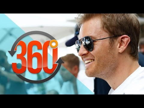 360° VIDEO! F1 driver Nico Rosberg tours Monaco in a 1970 Mercedes Pagoda