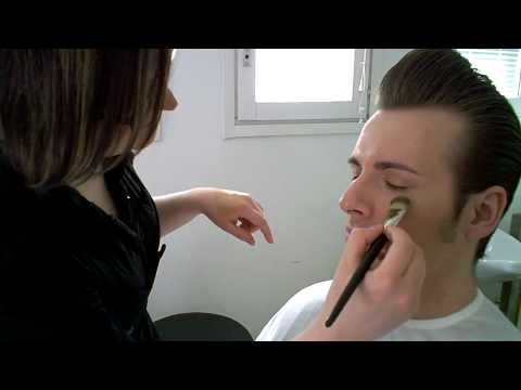 The Baseballs - Sam in make up session