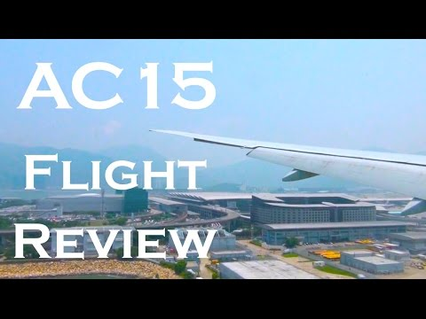 Air Canada AC015 Flight Review | YYZ - HKG (Boeing 777-233LR)