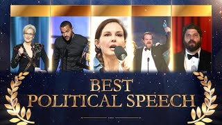 Best Political Speech by an Entertainment Celebrity: Who Will Win?