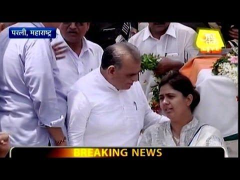 Gopinath Munde cremated in Parli