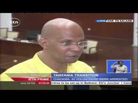 Interview with General Makamba of Election Committee in Tanzania.