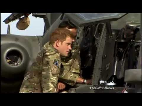 Prince Harry Arrives in Afghanistan for Secret Mission Following Nude Photo Controversy