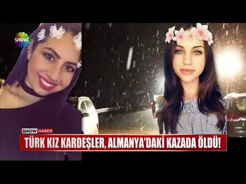 Türk kız kardeşler, Almanya'daki kazada öldü!