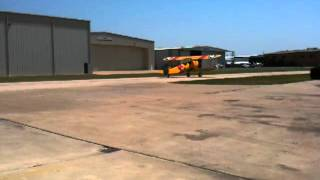 CFM Mary flies in Stearman