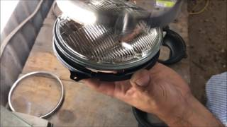 68-70 chevelle headlight video gm a body parts DIY how to do it yourself