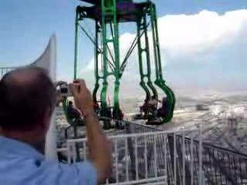 Las Vegas Stratosphere Insanity Ride Video