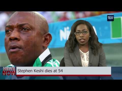 Stephen Keshi dies at 54