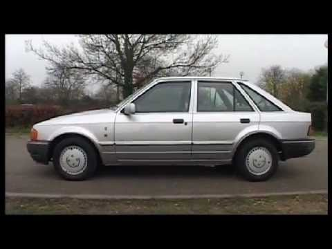 Ford Escort Mk4 Exterior - guided tour - recorded Nov 2011 ...