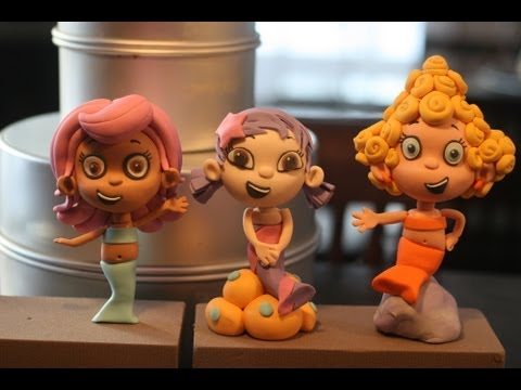Cake Decorating Fondant Characters : Modeling a Gumpaste Character; A McGreevy Cakes Tutorial ...