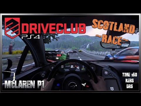 DRIVECLUB Gameplay - McLaren P1 (Night Race) @ Scotland / The Kyle