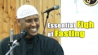 Essential Fiqh of Fasting – Said Rageah